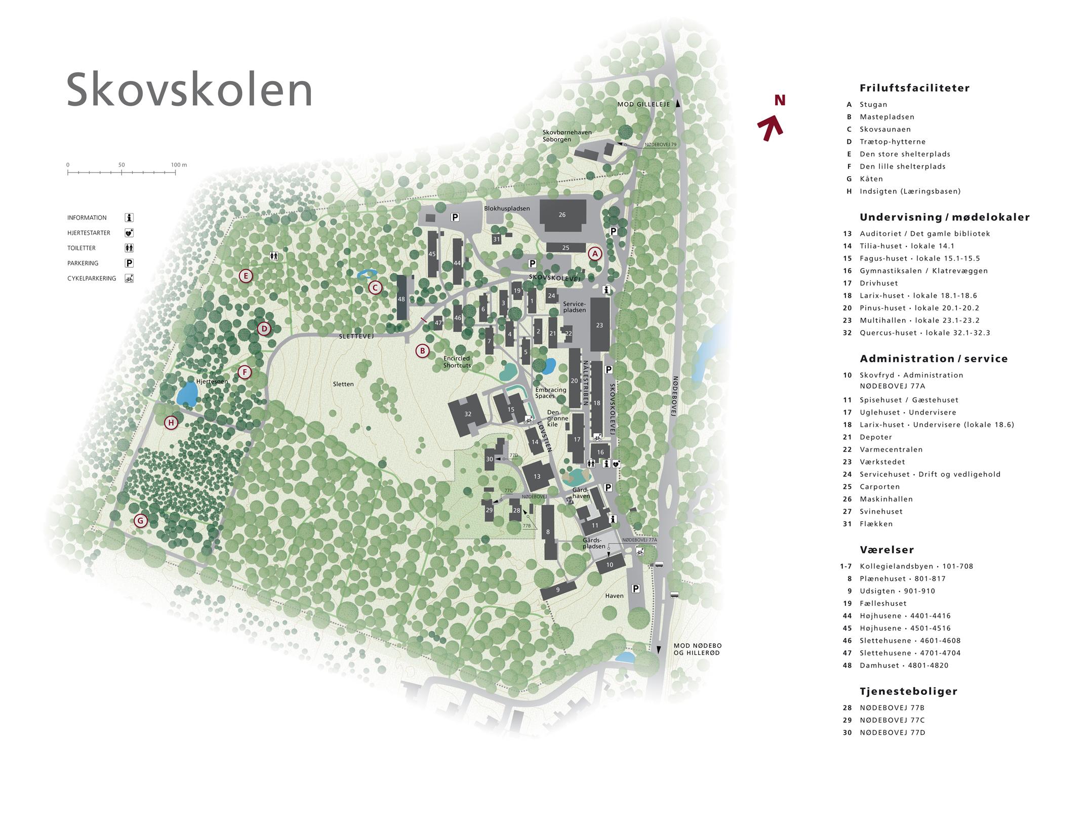 Booking Af Faciliteter Pa Skovskolens Omrade Kobenhavns Universitet