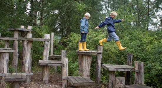 Viden om børn og deres brug af natur