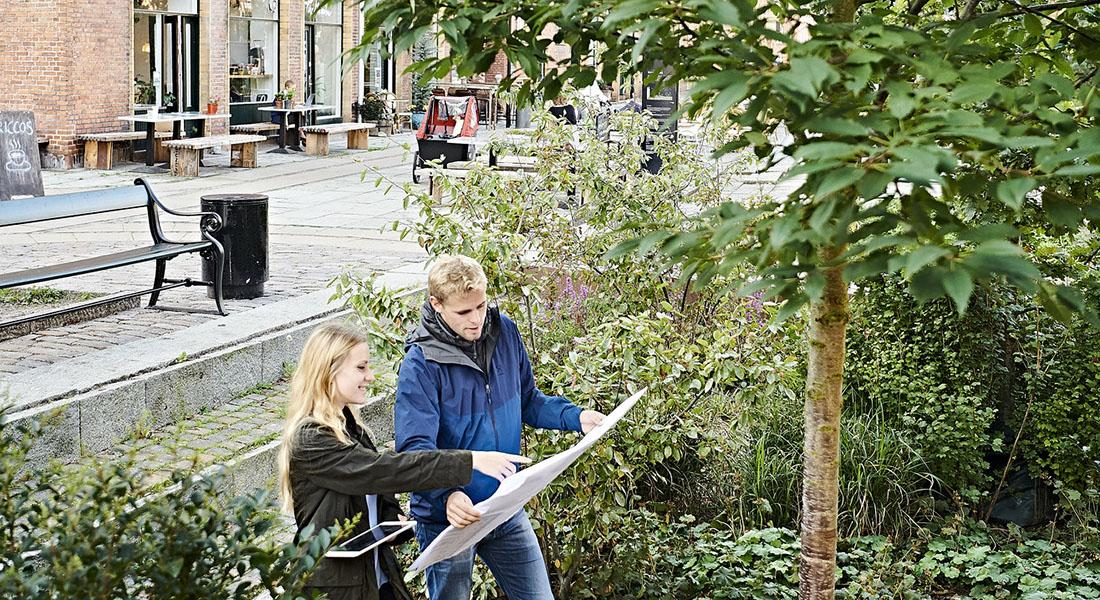 Urbane landskabsingeniører på opgave